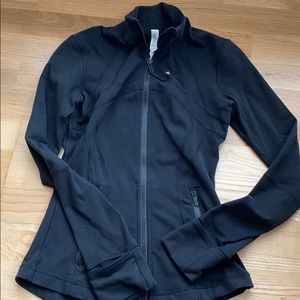 lululemon athletica Black Zip-up Jacket